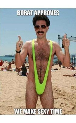 Body String Mankini Borat...