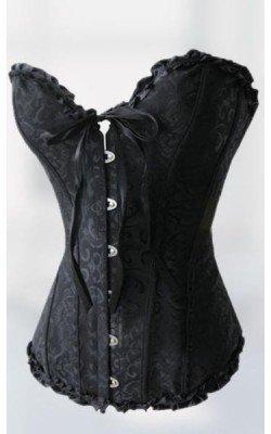 Corsé Victoriano negro