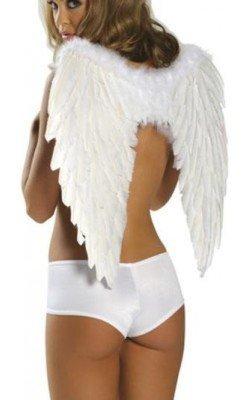 Alas de ángel blancas para...