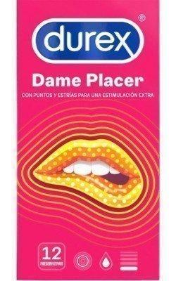 DUREX DAME PLACER 12 UDS