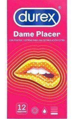 DUREX DAME PLEASURE 12 UNITÉS