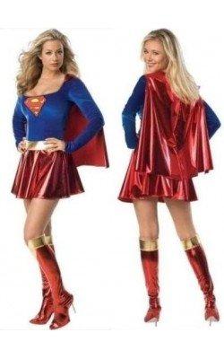 Disfraz de Superwoman con capa