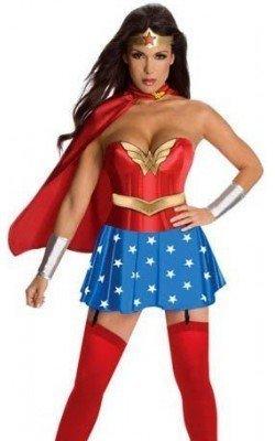 Disfraz de Wonder woman...