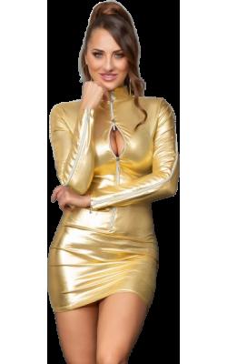 Sensual Vestido Ajustado De...