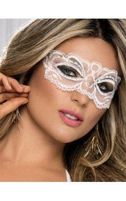 Sensuel Masque Blanc En...