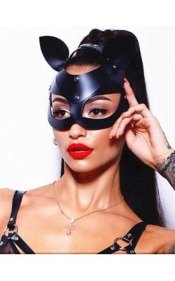 Masque Chatte Catwoman Yeux...