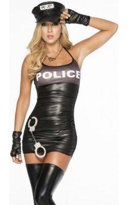 Traje Disfraz De Policia...