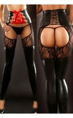 Collants porte-jarretelles...