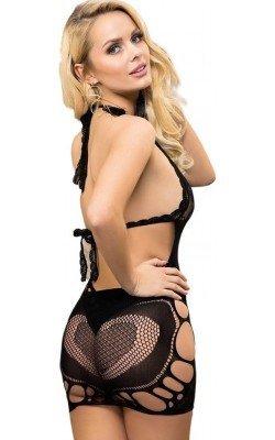 Sensual Vestido Elástico...
