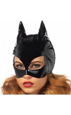 Masque en vinyle Catwoman...